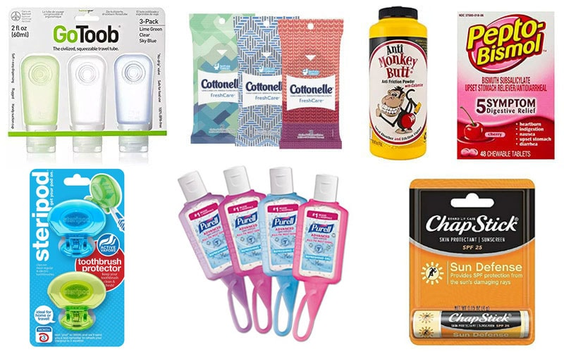 Hostel Packing List | Personal Care Items