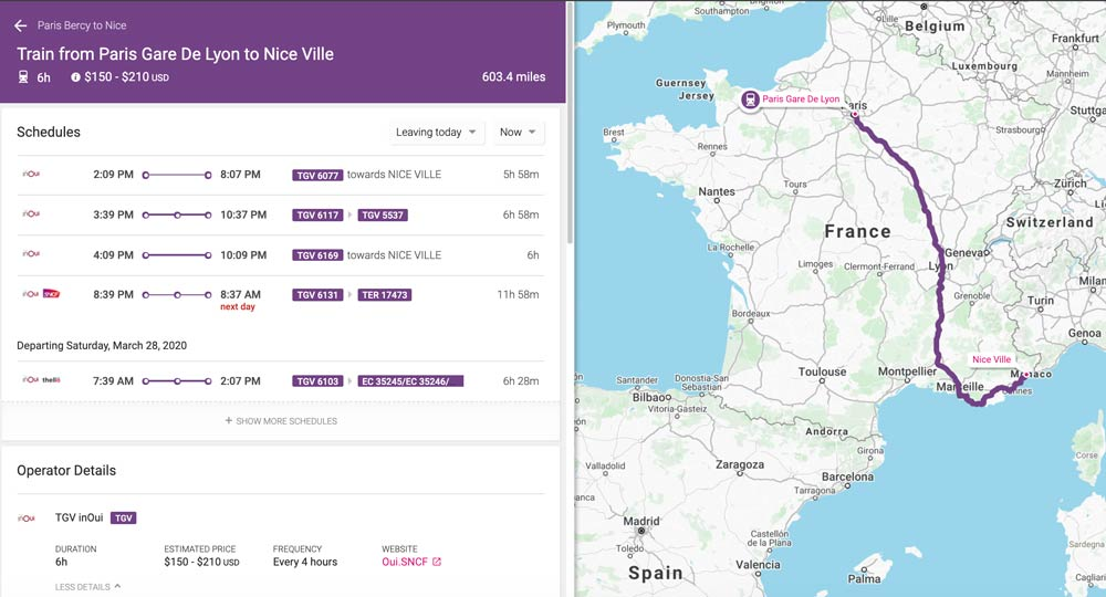 Tips For Booking French Train Tickets