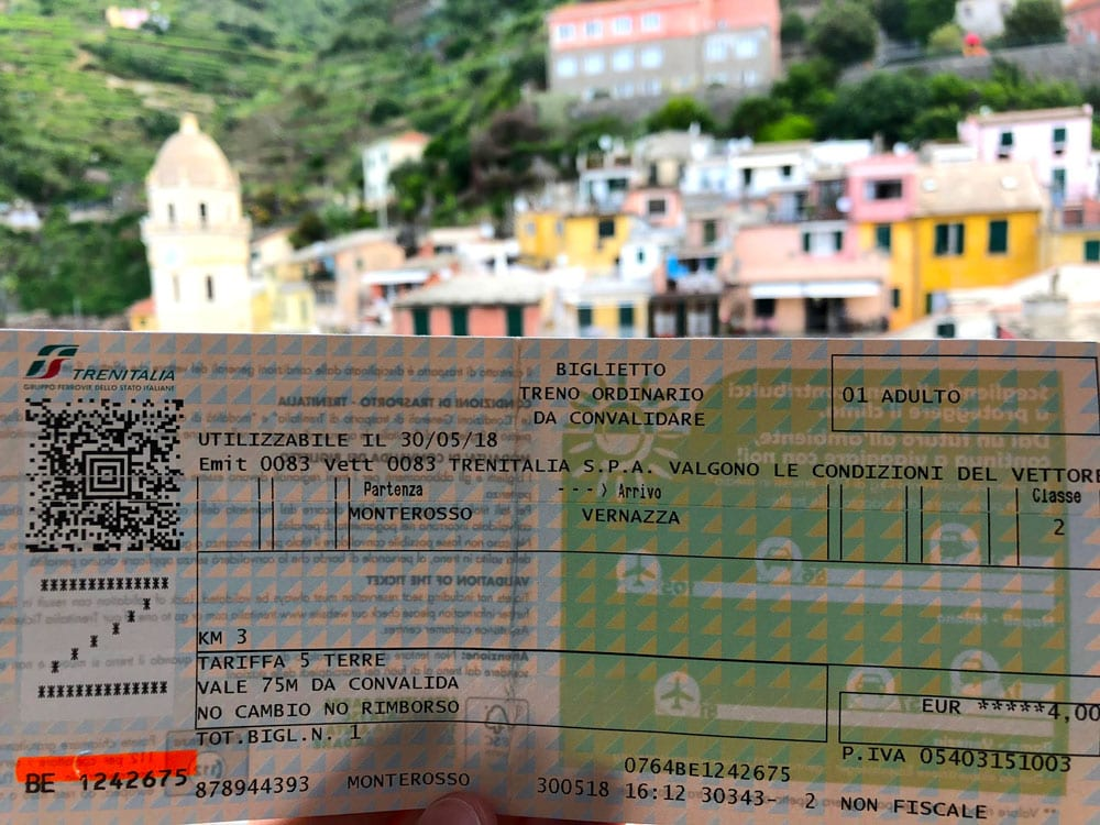 buying Italy train tickets