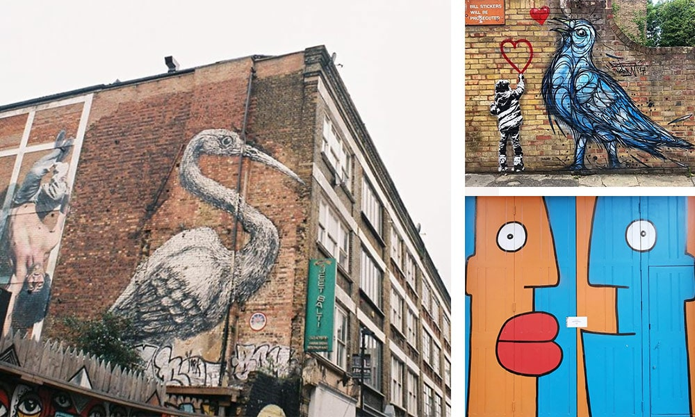 London Street Art - London Travel Guide