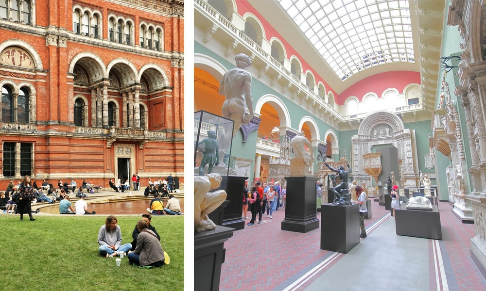 VICTORIA and Albert Museum - London Travel