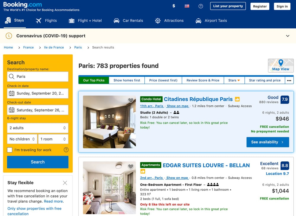 Airbnb Alternatives | Booking.com