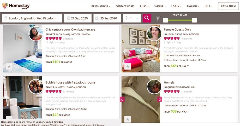 Airbnb Alternatives | Homestay
