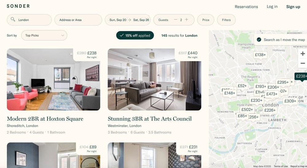 Airbnb Alternatives | Sonder
