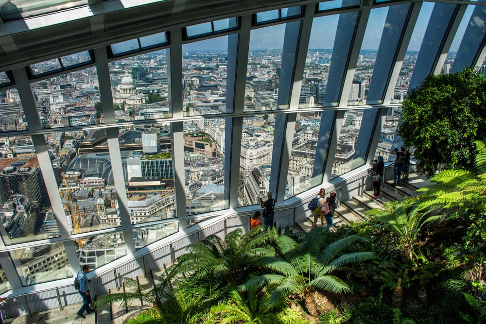This image has an empty alt attribute; its file name is london-travel-sky-garden.jpg