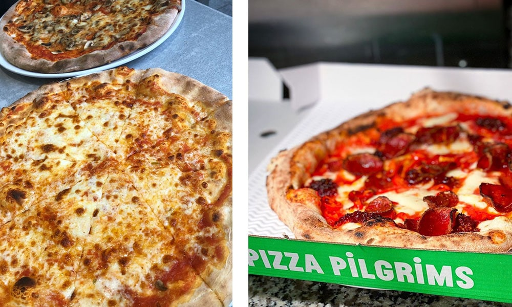 London on a Budget - Best Pizza