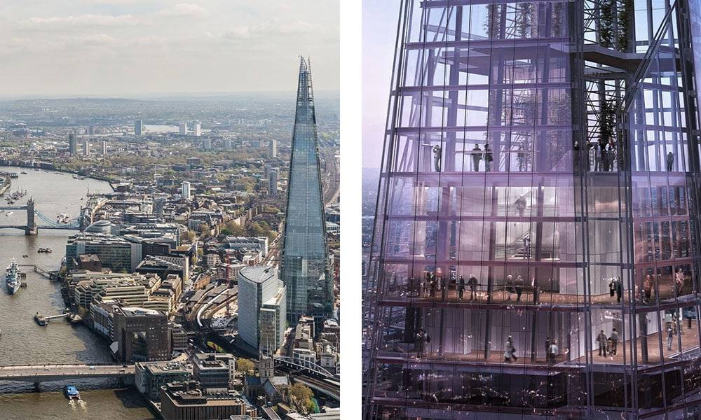 This image has an empty alt attribute; its file name is london-travel-guide-best-views-shard.jpg